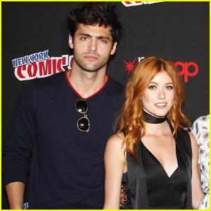 Katherine McNamara & Matthew Daddario Tease Conflicts Between Clary & Alec on 'Shadowhunters' Season 3