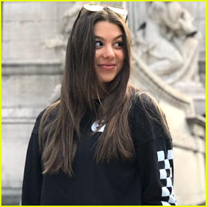 Kira Kosarin Adorably Surprises a Super-Fan at School