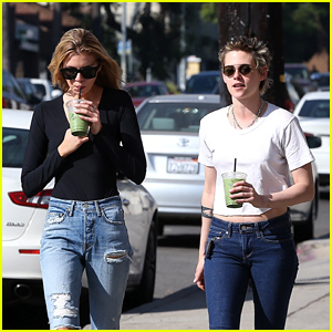 Kristen Stewart & Stella Maxwell Indulge in a Day of Pampering!
