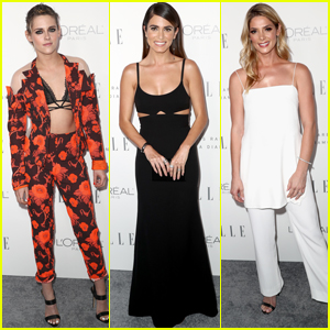 Kristen Stewart, Nikki Reed & Ashley Greene Get Glam at Elle Women in Hollywood Event