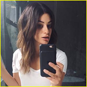 Lea Michele Debuts Shorter, Lighter Hair for Autumn