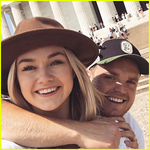 Lindsay Arnold & Husband Sam Cusick Still Need A Halloween Costume! (Exclusive)