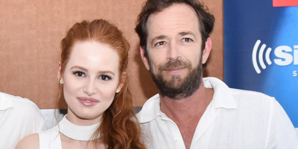 Luke Perry Masqueraded as Madelaine Petsch To Hide From ...