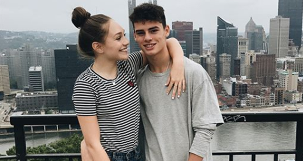 Maddie Ziegler Celebrates Boyfriend Jack Kelly's Birthday ...