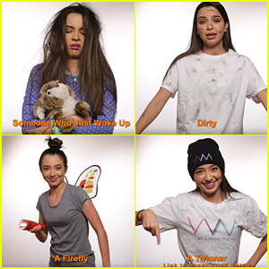 The Merrell Twins Have So Many Hilarious DIY Halloween Costume Ideas - Watch!