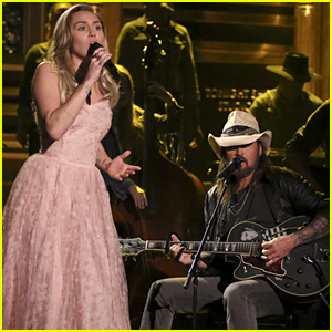Miley Cyrus & Her Dad Billy Ray Cyrus Honor Tom Petty on 'Tonight Show' - Watch!