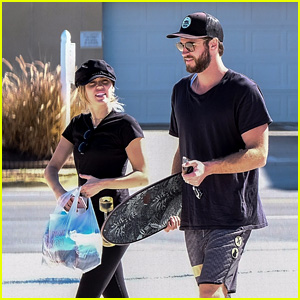 Miley Cyrus & Liam Hemsworth Are Hanging Out at the Same Spot They First Met!