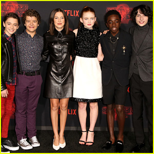 'Stranger Things' Kids Kick Off Season 2 with L.A. Premiere!