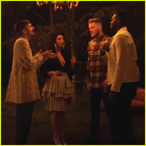 Pentatonix Debut 'Away in a Manger' Music Video, Their First Without Avi Kaplan - Watch Here!