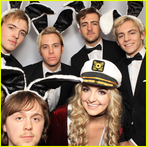 R5 Ruled the Photo Booth at the Just Jared Halloween Party - See the Pics!