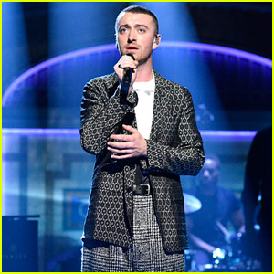 Sam Smith Takes 'SNL' Stage to Perform - Watch Now!