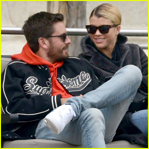 Sofia Richie & Scott Disick Couple Up For Boat Ride Around Venice