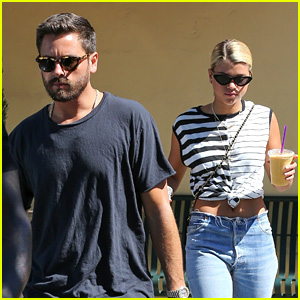 Sofia Richie Is Jetting Away with Boyfriend Scott Disick