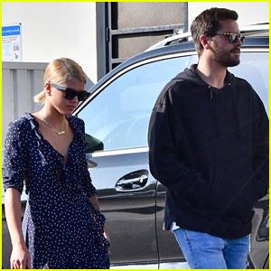 Scott Disick & Sofia Richie Have Mall Date In Malibu