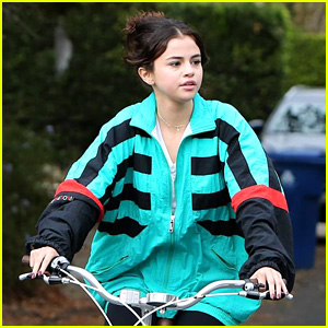 Selena Gomez Bikes Her Way Back to the '90s
