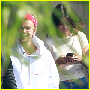Justin Bieber & Selena Gomez Attend Church Together (Photos)