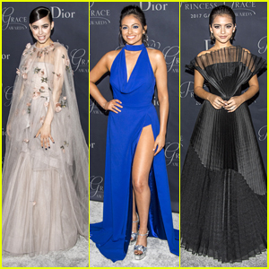 Sofia Carson, Isabela Moner & Bethany Mota Look Regal at Princess Grace Awards Gala 2017