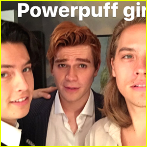 Dylan Sprouse Declares Him, Cole Sprouse & KJ Apa the New Powerpuff Girls