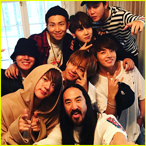 Steve Aoki Shares New Details About BTS & Bella Thorne Collaborations!
