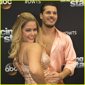 Sasha Pieterse & Gleb Savchenko Perform Fun Jazz on DWTS Season 25 Week 3