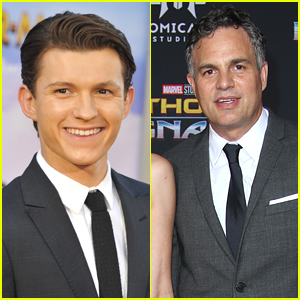 Tom Holland Jokes That Mark Ruffalo Is the 'Worst Avenger Ever'