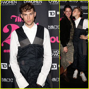 Tommy Dorfman Makes a Fashionable Appearance at 'Out' 25th Anniversary Celebration!