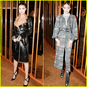 Bella & Gigi Hadid Celebrate Karl Lagerfeld at 'V Magazine' Dinner in NYC!