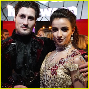 Victoria Arlen & Val Chmerkovskiy Wow With Viennese Waltz on DWTS Season 25 Halloween Night (Video)