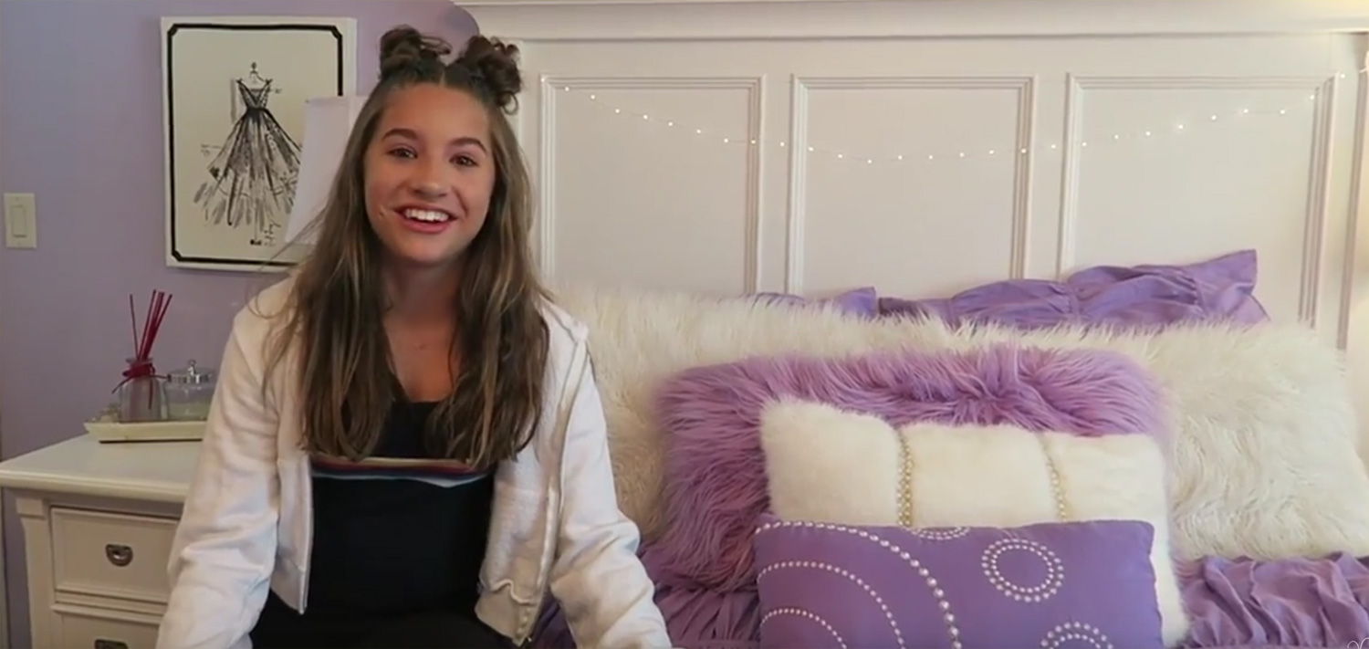 Mackenzie Ziegler Gives Fans a Tour of Her Bedroom  Video    Mackenzie  Ziegler  Maddie Ziegler   Just Jared Jr. Mackenzie Ziegler Gives Fans a Tour of Her Bedroom  Video