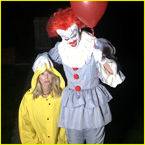 zoella turned her brother into pennywise the clown we re genuinely