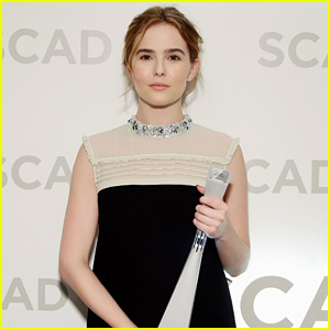 Zoey Deutch Screens Two Movies in Savannah, Receives Rising Star Award