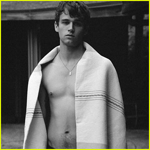 Brandon Flynn Is Shirtless For Second Cover of 'Hero Winter Annual' Magazine!