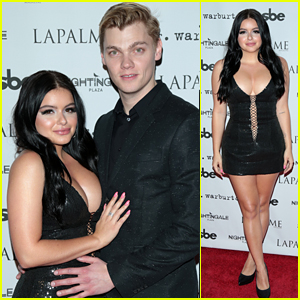 Ariel Winter & Levi Meaden Get Cute & Couple Up at 'LaPalme' Party!