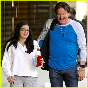 Ariel Winter Enjoys Some Father-Daughter Bonding Time