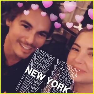 Ashley Benson & Tyler Blackburn Reunite in NYC - See The Pics!