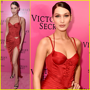 Bella Hadid Is Proud of Her Angelic Smile During VS Fashion Show!