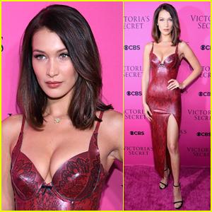 Bella Hadid Wows at VS Fashion Show Viewing Party!