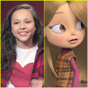 Breanna Yde Talks About Voicing Young Mariah Carey in 'All I Want For Christmas Is You' Film (Exclusive)