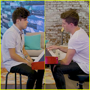Charlie Puth & Rudy Mancuso Face Off In Piano Duel - Watch!