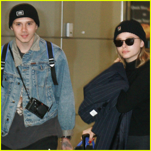 Brooklyn Beckham Heads Back to NYC With Chloe Moretz