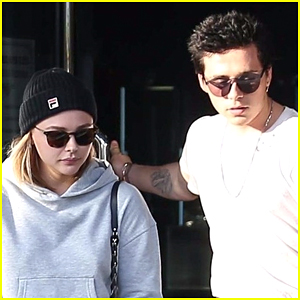 Chloe Moretz & Brooklyn Beckham Go Shopping After Camping Trip!