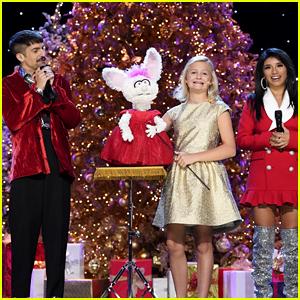 Darci Lynne Farmer & Petunia Sing 'O Easter Egg' Instead of 'O Christmas Tree' With Pentatonix