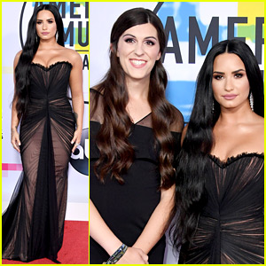 Demi Lovato Brings Transgender Legislator Danica Roem to the AMAs
