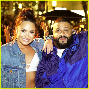 Demi Lovato Throws 'Fan Luv' Event in L.A. with DJ Khaled!