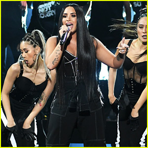 Demi Lovato's AMAs 2017 Performance of 'Sorry Not Sorry' - Watch Now!