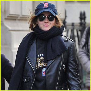 Emma Watson's Latest Style Gives a Shout-Out to US Sports Teams