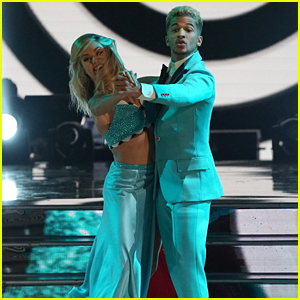 Jordan Fisher & Lindsay Arnold Kick Up Their Heels With Quickstep on DWTS Season 25 Week #8 (Video)