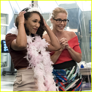 Emily Bett Rickards, Candice Patton & Danielle Panabaker Dish on Girl's Night Out on 'The Flash' Tonight