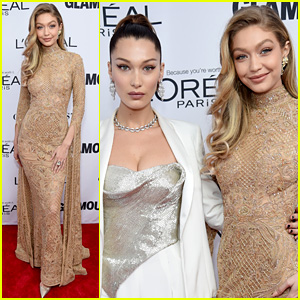 Gigi Hadid Has Bella By Her Side at Glamour Awards!