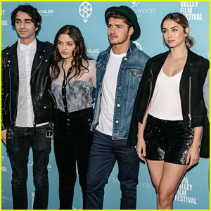 Gregg Sulkin, Ana de Armas, Odeya Rush, & More Attend Napa Valley Film Festival